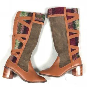 Schuler & Sons Anthropologie Boots